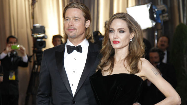 Matrimonio entre Angelina Jolie y Brad Pitt