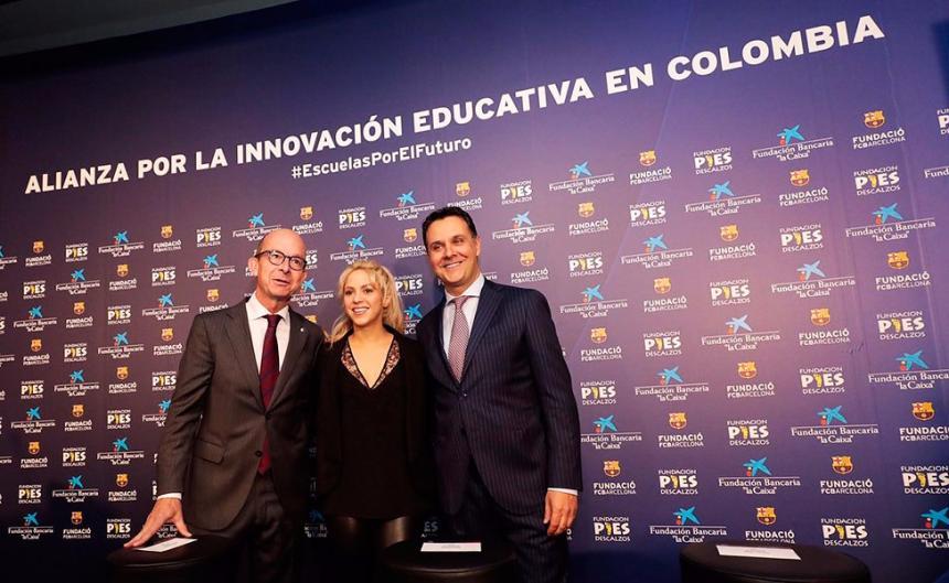 Shakira abrirá nuevo colegio